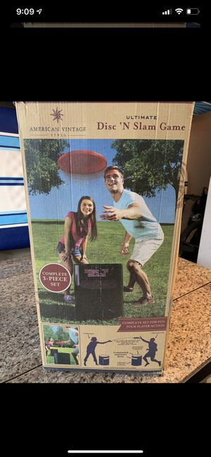 Disc N Slam Game for Sale in Hollywood, FL