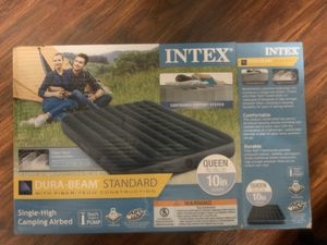 Camping Airbed and Electronic Pump for Sale in Sacramento, CA