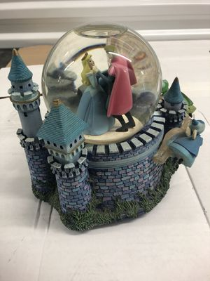 Disney/ Sleeping Beauty music box and globe for Sale in Columbia, SC