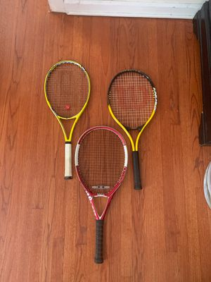 Tennis rackets for Sale in Piscataway, NJ