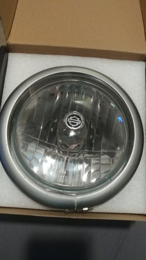 Harley Davidson OEM headlight and trim ring for Sale in Charlotte, NC