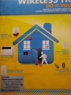 Wireless home alarm do-it-yourself kit for Sale in Las Vegas, NV