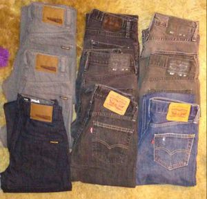 New & Gently Used LOT of Men's Designer Jeans - 9 Pairs!!! for Sale in Vancouver, WA