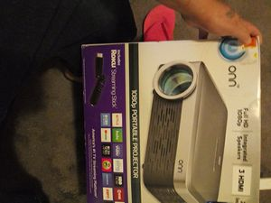 Roku HDMI 3 PROJECTOR BRAND NEW for Sale in Salt Lake City, UT