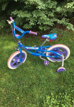 Girls child bike (with training wheels) for Sale in Sunbury, PA
