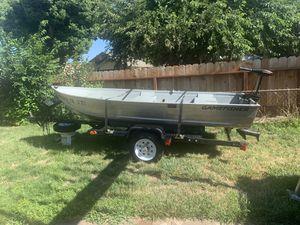 Sears 12ft aluminum V boat for Sale in Hayward, CA