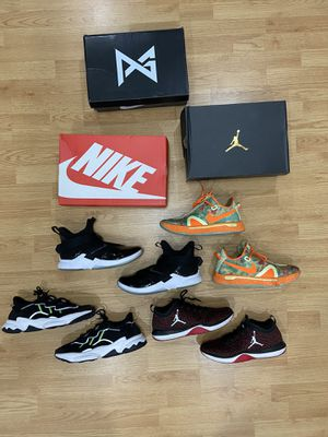 Sneaker Beater Boxes Shoe Lot Nike Jordan Adidas Footwear for Sale in Davie, FL