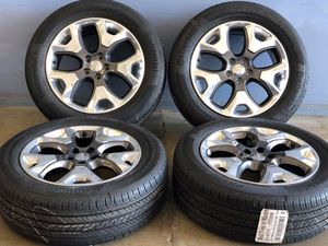 """18"""" JEEP COMPASS WHEELS RIMS TIRES FACTORY OEM SET 4 9191 5vc28trmaa Package deal 999.00 Best Tires 📍33733 Groesbeck Hwy Fraser, MI for Sale in Sterling Heights, MI"""