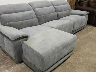 New L Shape Reclining Sectional Sofa Tax Included Delivery Available for Sale in San Leandro,  CA
