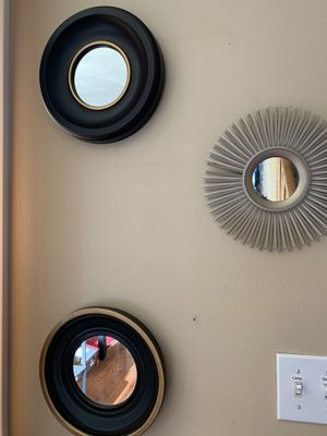 5 mirror wall art for Sale in Haverhill, MA