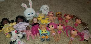 Large Lalaloopsy Doll lot and more [ 18 for 20 ] for Sale in Virginia Beach, VA