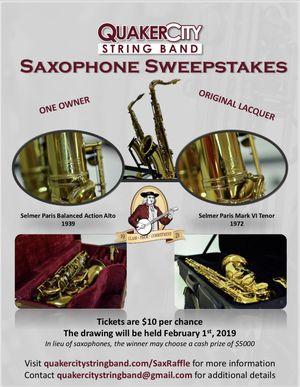 Saxophone Raffle for Sale in Philadelphia, PA