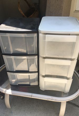 Plastic drawers for Sale in Anaheim, CA