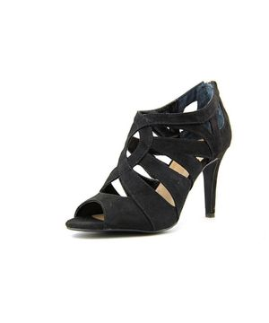 Style & Co Ursula Black Faux Suede Strappy Heels 6.5 for Sale in Reno, NV