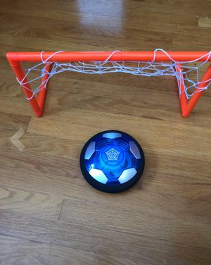 LED hover soccer ball set with goals for Sale in Tampa, FL