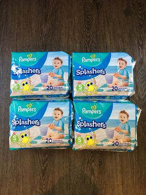 NEW Size S Pampers Splashers swim diapers for Sale in North Ridgeville, OH