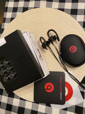 Beats By Dre - Wireless Black Headphones Powerbeats for Sale in Royal Palm Beach, FL
