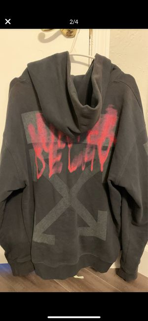 OFFWHITE WATER DELAY HOODIE LARGE for Sale in Gilbert, AZ