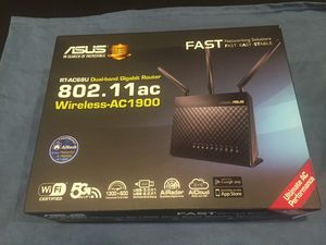 ASUS Wireless - AC1900 Dual Band Router RT-AC68U for Sale in Brea, CA