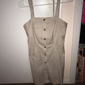 Light Brown Checkered Pencil Dress for Sale in Commerce, CA