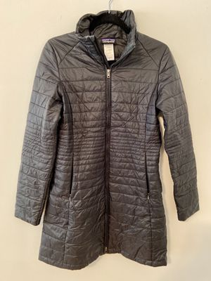 Patagonia Women's Fiona Parka Long Black Coat Size Medium for Sale in Alpharetta, GA