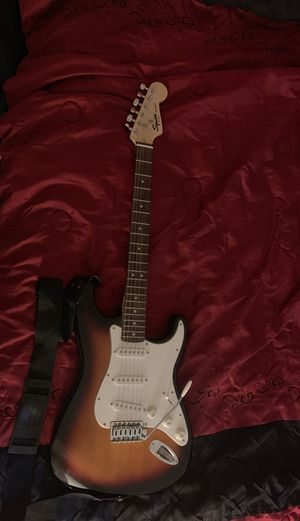 Squire strat Guitar and Guitar Gear for Sale in Pittsburg, CA