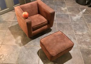 Children's Velor Chair and Ottoman for Sale in Washington, DC