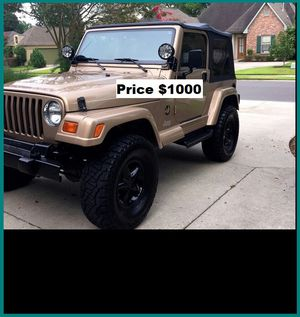 ֆ1OOO Jeep Wrangler for Sale in Los Angeles, CA