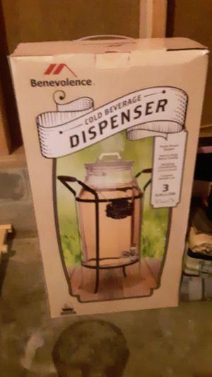 Benevolence cold beverage dispenser 3 gallons. for Sale in Walker, MN