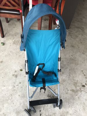 Blue stroller and bouncer for Sale in Shakopee, MN