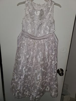 Rare editions white flower girls dress for Sale in Miami Gardens, FL