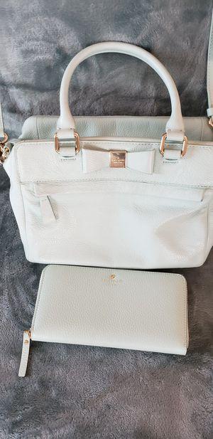 Kate Spade grace blue handbag and wallet, purse. for Sale in Weldon, IL