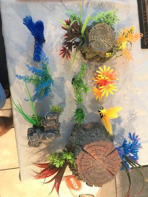 Fish Tank plants decor for Sale in Winter Garden, FL