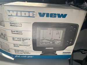 Humminbird Wide Eye Fish and Depth Finder for Sale in Westminster, CA