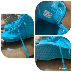 Turquoise men's vans size 5.0 for Sale in Plano, TX