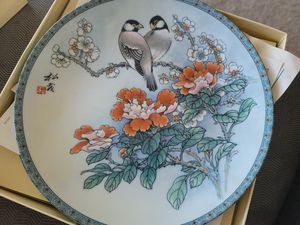 Edwin M. Knowles China Plates In Box for Sale in San Diego, CA