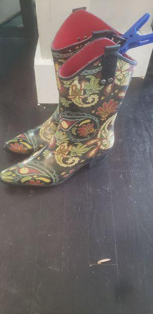 Cowboy Rain Boots for Sale in Atlanta, GA
