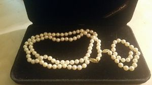 Mikimoto Pearl Set for Sale in New Freedom, PA