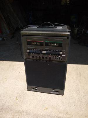 Kareoke Optimus 32-1162 duel cassette Kareoke for Sale in South Zanesville, OH