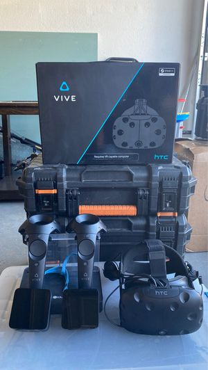 HTC Vive w/Pro headset for Sale in Rancho Cucamonga, CA