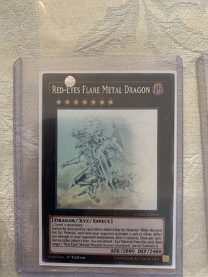 Red-Eyes Flare Metal Dragon Ghost Rare 1st Edition for Sale in Miami, FL