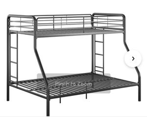 Bunk bed frame full at bottom twin on top for Sale in Madison, AL