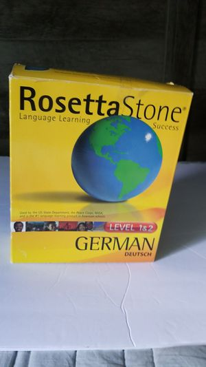 Rosetta Stone German level 1&2 for Sale in Cooper City, FL