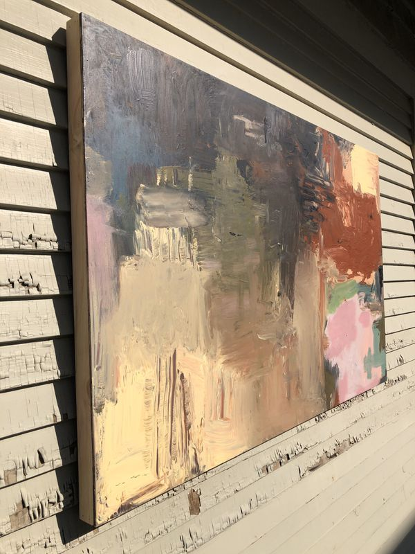 Original large abstract painting