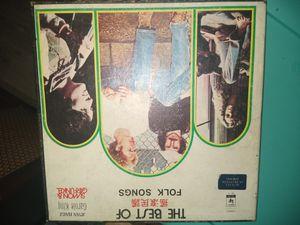 The best of folk songs album. for Sale in Phoenix, AZ