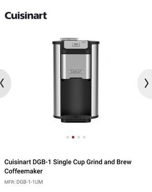 Grind and Brew Coffee Maker for Sale in Seattle, WA