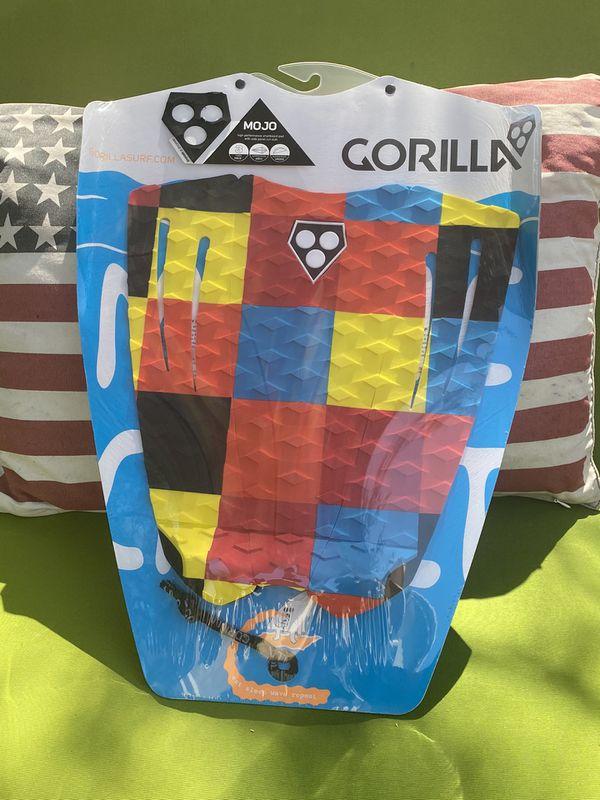 Gorilla Grip Mojo 3 Way Surfboard Deck Traction Pad