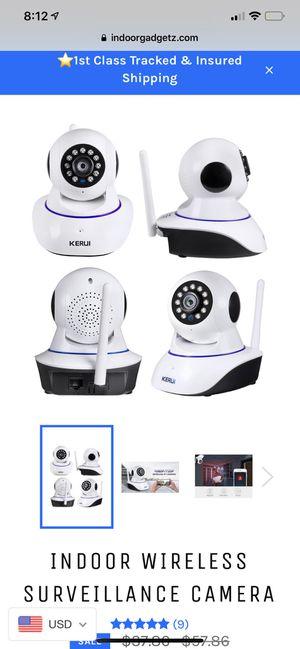 Indoor Wireless Surveillance Camera for Sale in McKeesport, PA