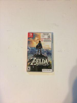Nintendo switch Zelda breath of the wild for Sale in Plantation, FL