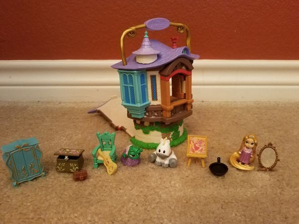 Disney's Rapunzel set